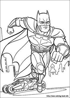 batman coloring pages villians | Comic Book Coloring Pages ...