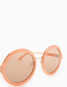 At Stradivarius you'll find 1 STR round maxi glasses for woman for just 3.99 £ . Visit now to discover this and more ACCESSORIES.