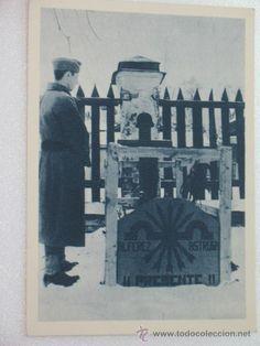 Postales: Tarjeta Postal División Azul Cementerio español. Colección Azul. Ver mas fotos. - Foto 1 - 28345277
