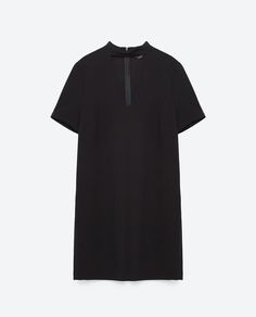 Image 8 of MINI DRESS WITH COLLAR DETAIL from Zara