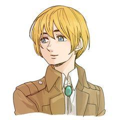 I really love Armin as a commander Armin Snk, Mermaid Boy, Best Fan, Attack On Titan Anime, Cute Guys, Memes, Fan Art, Cartoons, Fictional Characters