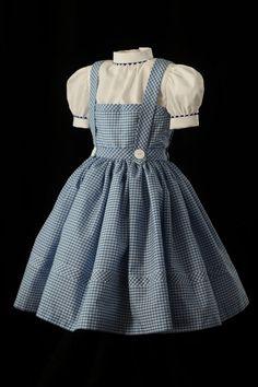 Child's Dorothy Costume Dress Custom Made, via Etsy.