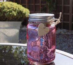 Firefly Mason Jar - Pink