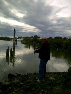 Fishing at the Oshawa Pier