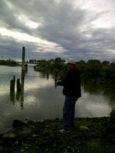 Fishing at the Oshawa Pier