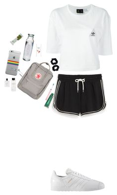 """""""Untitled #250"""" by bbynizzle ❤ liked on Polyvore featuring Monki, adidas, adidas Originals, Fjällräven, i.am+, Arbonne, Philips Sonicare, Marvis, Rossano Ferretti and Accessorize"""
