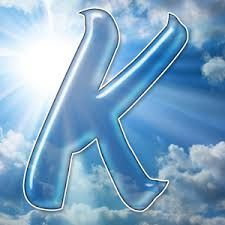 . Fire Tornado, Cloud Shapes, I Saw The Light, Letter Art, Initials, Lettering, Nature, Kiss, Letter K