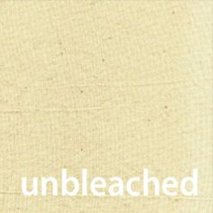 100% cotton hand-made bedding from Vancouver, BC in the natural colour of unbleached cotton.