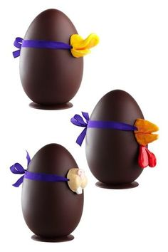 Easter Eggs Easter Chocolate, Chocolate Art, Chocolate Treats, Chocolate Molds, Chocolate Packaging, Egg Decorating, Easter Crafts, Easter Ideas, Recipe Cards