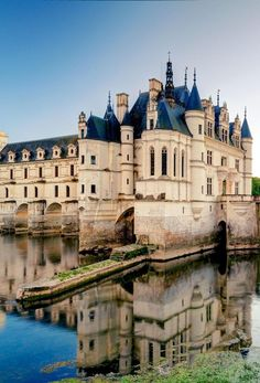 Château de Chenonceau, Loire Valley, France 10 Most Beautiful Castles in Europe Beautiful Castles, Beautiful Buildings, Beautiful Places, Chateau Medieval, Medieval Castle, Oh The Places You'll Go, Places To Travel, Places To Visit, Photo Chateau