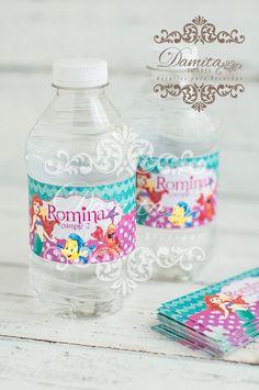 La Sirenita, Botella de agüa