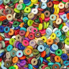 Pick your own Greek ceramic washer colors bracelet kit $9.50