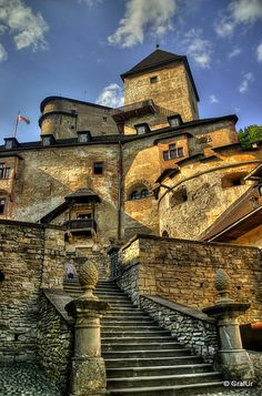 Orava Castle, Slovakia ..i tracked our jandura family back to this village in 1700s