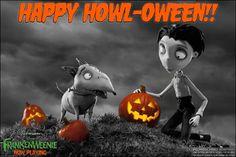 Happy Howl-oween from Frankenweenie
