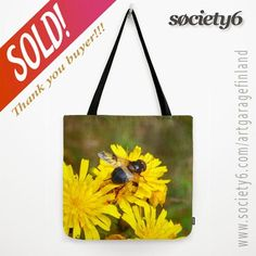thanks to the buyer of this tote-bag design called 'Ready for take off' from my webstore! Flower Photography, Bag Design, Yellow Flowers, Fashion Accessories, Reusable Tote Bags, Gift Ideas, Art Market, Prints, Bee