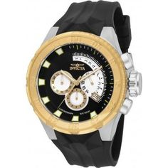 Invicta Men s 16923 I-Force Multi-Function Black Polyurethane Watch. Acero  Inoxidable NegroReloj ... 0afbb5598b53