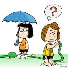 Marcie & Peppermint Patty