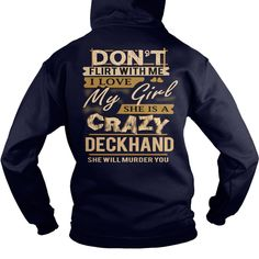 DECKHAND- Love My Girl #gift #ideas #Popular #Everything #Videos #Shop #Animals #pets #Architecture #Art #Cars #motorcycles #Celebrities #DIY #crafts #Design #Education #Entertainment #Food #drink #Gardening #Geek #Hair #beauty #Health #fitness #History #Holidays #events #Home decor #Humor #Illustrations #posters #Kids #parenting #Men #Outdoors #Photography #Products #Quotes #Science #nature #Sports #Tattoos #Technology #Travel #Weddings #Women