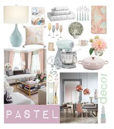 """""""Untitled #121"""" by beelovem ❤ liked on Polyvore featuring interior, interiors, interior design, home, home decor, interior decorating, Crate and Barrel, Williams-Sonoma, Pacific Coast and Noritake"""