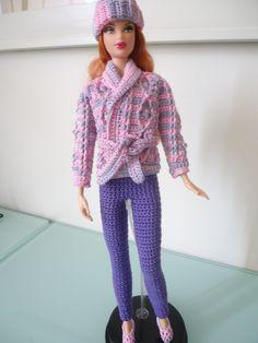 Variations for the Barbie Basic Leggings