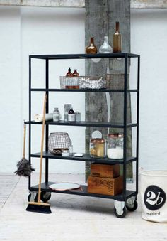 Organization shelves from house doctor. Simply inspirational by www.ConfidentLiving.se
