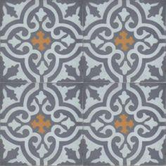 Moroccan Encaustic Cement Pattern 03g | £ 2.47 | Best Tile UK | Moroccan Tiles | Cement Tiles | Encaustic Tiles | Metro Subway Tiles | Terra...