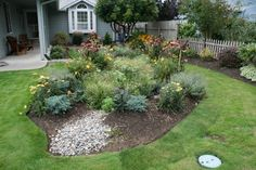 Learn about rain garden design from the DIY Network's Made+Remade, including tips on installing rain gardens and green landscape ideas. Green Landscape, Landscape Design, Rain Garden Design, Verticle Garden, Garden Projects, Garden Ideas, Kid Garden, Garden Hoe, Water Garden