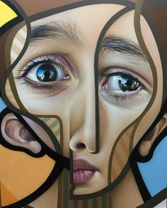 Here are the street art creations by Spanish artist Miguel Ángel Belinchón Bujes, aka Belin, who mixes cubism and realism in some beautiful and colorful crea