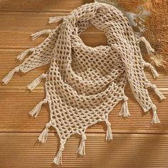 mascada a crochet
