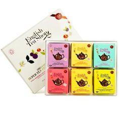 English Tea Shop - Coffret thés et créations de super fruits sans théine