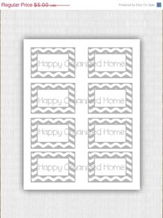 SALE Instant Download  Chevon Printable by HappyOrganizedHome, $4.00