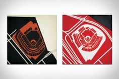 Ballpark Prints - lifestylerstore - http://www.lifestylerstore.com/ballpark-prints/