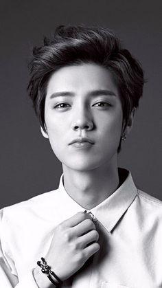Image about kpop in luhan by gabi on We Heart It Korean Haircut Men, Korean Boy Hairstyle, Korean Men, Korean Hairstyles, Asian Haircut, Long Hairstyle, Fashion Over 40, Trendy Mens Haircuts, Kpop Hair