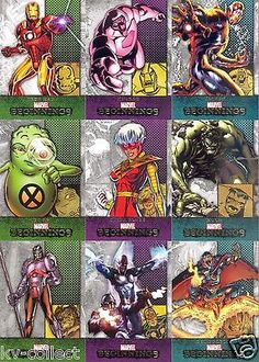 #Complete set marvel #beginnings series 2 trading #cards - 2012 ,  View more on the LINK: 	http://www.zeppy.io/product/gb/2/262452747267/