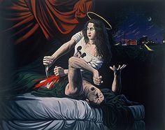 """The Revenge of Lorena Bobbitt"", Sandow Birk, 1994."
