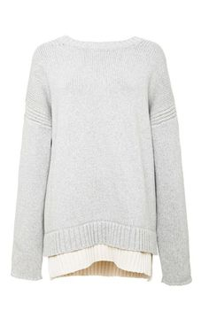 Derek Lam 10 Crosby Oversized Cotton-Blend Sweater:
