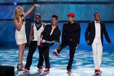 LOVED this hip hop number from these four ... so entertaining