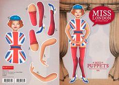 Fanny Cheval - Puppets http://www.blueart.fr/francais/carte-a-decouper-mes-puppetts-miss-london-par-fanny-cheval-14-8-x-21-cm.html