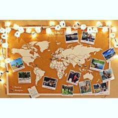 New wood metal wall decoration for all your travels and memories ! Available on Artwall and Co . This Cork world map in wall decoration allows you to pin your next destinations while remaining design for your interior Cork World Map, World Map Decor, Watercolor World Map, Miss Wood, Deco Originale, Travel Wall, Diy Décoration, Metal Wall Decor, Bedroom Decor