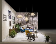 S/ALON Budapest lakástrend kiállítás Tervezte: Kónya Hajnalka Bamboo Light, Suspended Lighting, Lamp Shades, Modern Interior Design, Budapest, Light Fixtures, Lights, Decor, Lampshades