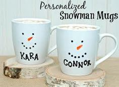 sharpie christmas mugs - Google Search
