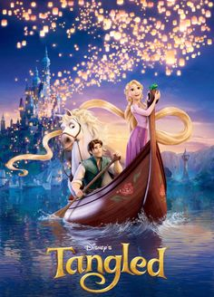 Tangled-2010 animated feature film from Disney