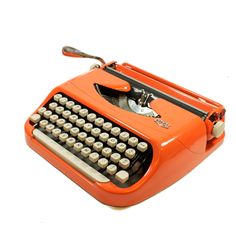 I want an orange type writer in the waiting area... for no real reason whatsoever.