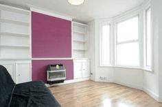 My Scandi-style living room makeover – painted white floors and light grey walls - cate st hill Grey Walls Living Room, Long Room, Old Fireplace, Chimney Breast, Light Grey Walls, Scandi Style, Painted Floors, New Homes, Flooring