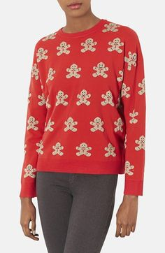 If the Gingerbread Man Sweater fits, wear it! @Polyvore   #ShopPolyvore