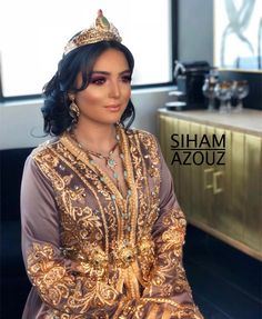 "Siham Azouz on Instagram: ""B R I D A L ✨ #moroccanwedding#kaftan#mua#bridal"" Morrocan Wedding Dress, Morrocan Dress, Moroccan Bride, Moroccan Caftan, Caftan Dress, Hijab Dress, Muslim Wedding Dresses, Afghan Dresses, Islamic Clothing"