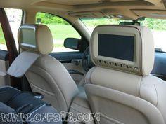 OnFair Car Headrest DVD Customer Review Testimonial - 2012 Hyundai Santa Fe.  #headrestdvdplayer #family http://www.onfair.com/2012-hyundai-santa-fe-headrest-dvd-player-install-photos/