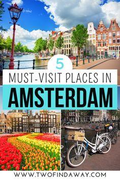 European Travel Tips, European Vacation, Europe Travel Guide, Europe Destinations, Travel Guides, Visit Amsterdam, Amsterdam Travel, Amsterdam Itinerary, Amsterdam Attractions