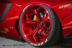 Nice red rims.