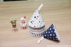 과정샷 / 꼬깔 주방장갑 만들기! : 네이버 블로그 Key Covers, Mini Things, Fabric Wallpaper, Decorative Bells, Diy And Crafts, Sewing Projects, Embroidery, Quilts, My Favorite Things